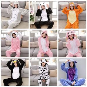 adulte unisexe Panda animal Costume adulte en peluche One Piece pyjama pyjama animaux enfants adultes ONESIE pour Halloween Noël