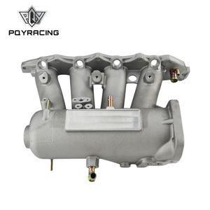 PQY - ДЛЯ B16A b16b B18A алюминиевый литой Впускной коллектор Upgrade болт на 99-00 для Honda Civic 92-01 Acura Integra PQY-IM42-CA