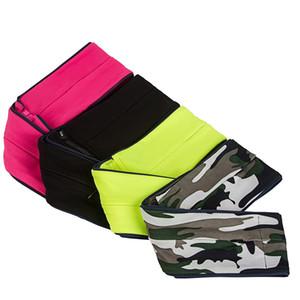 Sport Gürteltasche Multi Funktion Atmungsaktiv Hohe Kapazität Hüfttasche Mit Unsichtbarer Reißverschlusstasche Stretchy 17 64tw B
