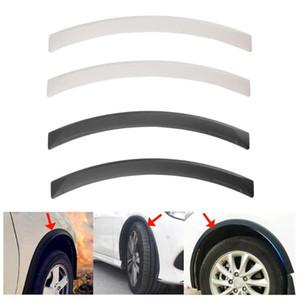 Universal Arch Car Wheel Eyebrow Fender Flares Auto Mudguard Protector Strips Car Auto Replacement Parts 2Pcs set