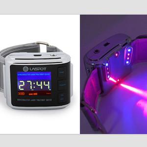 ATANG 신제품 반도체 레이저 치료 장비 침술 펜 빨간 레이저와 치료를위한 푸른 빛 손목 시계 Tinnutis / Rhinit