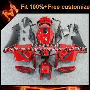 23 colores + 8 regalos Molde de inyección casco de motocicleta rojo para HONDA muchos esquemas de pintura CBR600RR 2005-2006 CBR 600 RR 05 06 ABS Carenado
