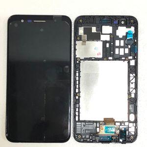 5.3 LCD pantalla táctil para LG K30 K10 K11 2018 con las piezas de recambio del marco negro