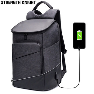 2018 Nuevos Hombres Mochila Anti-Robo Multifunción Moda USB de carga Hombres 15 pulgadas Mochila Portátil Bolsa de Viaje de Negocios