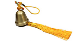 Metallic copper bell chimes hanging door trim can do car pendant