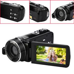 """적외선 야간 투시 원격 제어 핸디 캠코더 HD 1080P 24MP 18X 디지털 줌 비디오 DVWITH 3.0 """"LCD 화면 Deyiou"""