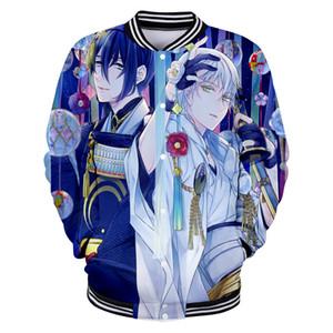 3D ONLINE Hot Spiel Anime Männer Baseball Jacken Paar Harajuku Hip Hop Kpop Winter Kawaii Sweatshirt Top Hoodies Übergröße 4XL