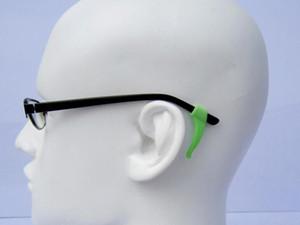 11 colores gafas de gafas de gancho para la oreja gafas de silicona de calidad titular de la punta del templo