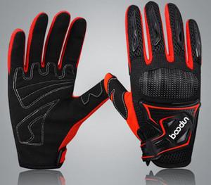 Nuevos guantes antideslizantes para motocicletas que absorben los choques de los automóviles y las mujeres que compiten con guantes transpirables resistentes a roturas