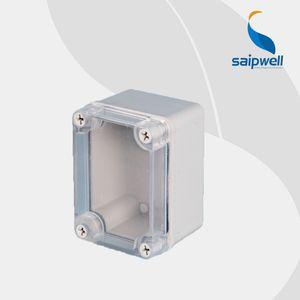 DS-AT-0811 ABS Malzeme Su Geçirmez Kutu / Dağıtım Kutusu (IP66) Muhafaza Panelli, 80 * 110 * 70mm