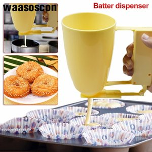 Кондитерские изделия Тесто Диспенсер Cup Cake Making ручки Helper мяч Maker Cupcake Muffin Вафли торт выпечки Инструменты Кухонные Quick