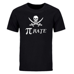 새로운 패션 인쇄 짧은 소매 T 셔츠 남자 재미 있은 수학 티 셔츠 여름 해골 코 튼 캐주얼 탑스 스포츠 정장 DIY-0216D