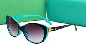 Nuevas gafas de sol ultra ligeras de la concha de la perla de la moda TF4099 de Syle 2018