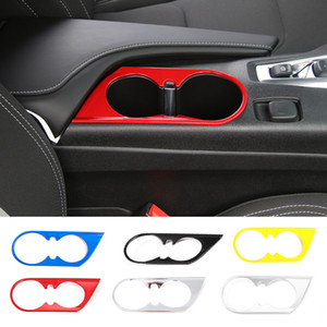 ABS ABB in ABS Supporto per tazza frontale Accessori per la decorazione per Chevrolet Camaro 2017 Up Car Styling Accessori interni
