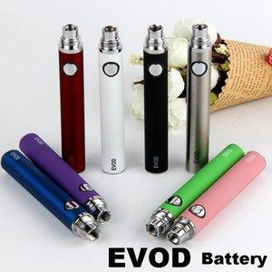 Batería EVOD Vape Pen ecig 510 Baterías de rosca 650 900 1100 mah Batería Vapen Pen para CE3 CE4 Vaporizador Cartucho de aceite Kit inicial