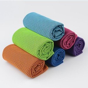Color Magic Cold Towel Exercise Fitness Sweat Summer Ice Towel Outdoor Sports Ice Cool Towel Hypothermia 90x35cm Cooling Towels