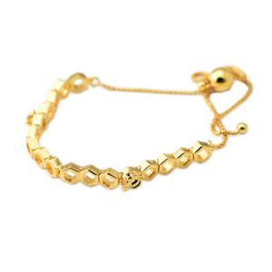 Fits Pandora Beads Primavera 2018 com banho de ouro Limited Edition Abelha Pulseiras de prata 100% 925 pulseiras de prata esterlina para as Mulheres DIY Fazendo