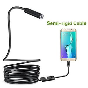 USB بوريسكوب ، كاميرا فحص المناظير شبه الصلبة CMOS HD كاميرا ثعبان مقاوم للماء مع 6 ضوء LED قابل للتعديل -