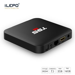 T95 S1 Smart Android 7.1 TV Box 2GB 16GB Amlogic S905W 2.4 G Wifi Smart Box PK X96 tx3 mini