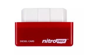 Nitro OBD2 Performans Güç Ayarlama Kutusu Chip Fiş Sürücü Dizel Araba NitroOBD2 CTE038-01 Benzin Benzinli Arabalar Chip Tuning Kutusu
