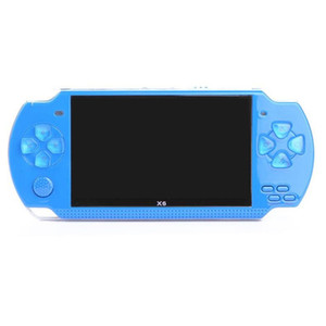 4.3 inch Handheld Game Console Player X6 32Bit 8GB Support for Game Video E-Book