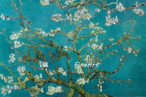 dipinti ad olio fatti a mano fiore di mandorlo vincent van gogh tela quadri famosi dipinti riproduzione galleria decorazione della casa pittura a olio unico