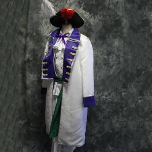 남성 럭셔리 Axis Powers 코스프레 중세 복 빈티지 시대의 의상, 셔츠, 바지, 모자 / 내전 / 코스프레