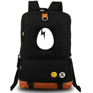 Vinyl CD backpack Dirtybird daypack Dirty bird music schoolbag Leisure rucksack Canvas school bag Outdoor day pack