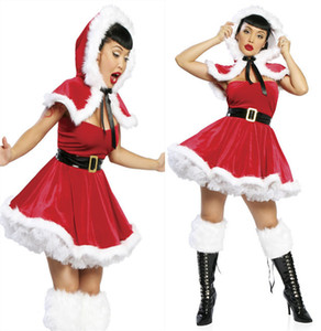 Miss Mrs Santa Claus Dames Costume Déguisement De Noël