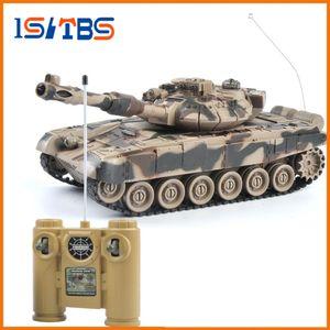 Serbatoio RC 1/20 9CH 27 Mhz Infrarossi RC Battle Tiger T90 Serbatoio Cannone Emmagee Remote Control Serbatoio giocattoli remoti per i ragazzi