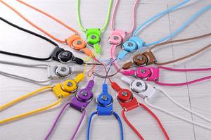 La lunga imbracatura della linea staccabile due in uno viene utilizzata per il telefono cellulare ID MP3 Mp4, disco rigido, ecc
