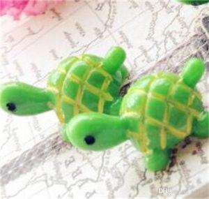 Yaratıcı Peyzaj Süsler Simülasyonl Sevimli Yeşil Kaplumbağa Hayvanlar DIY Mikro Reçine Peri Bahçe Minyatürleri Dekor Aksesuar 0 45 ...