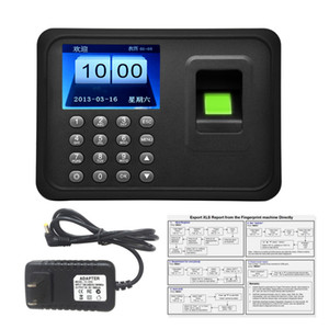 Freeshipping A6 Fingerprint Time Attendance Clock Recorder Employee Sistema de Controle de Tempo Recorder para o escritório do empregado