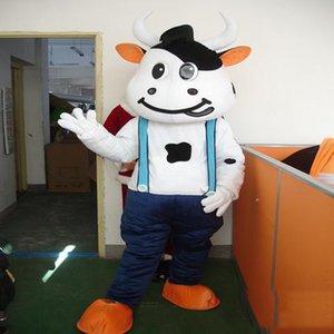 2017 горячие продажа три стиль Mengniu корова талисман костюмы фильм реквизит партии мультфильм одежда