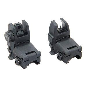 Tactical M4 AR15 AR-15 Vorderer und Hinterer Flip-Up-Anblick Schneller Übergang Backup-Faltvisier für Picatinny-Schiene