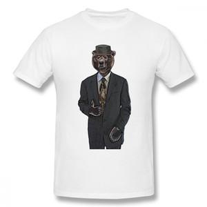 Винтажная футболка Papa Bear Футболка Homme Футболка из качественного хлопка для мальчика