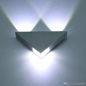 CALIENTE de alta calidad de interior 3W LED Lámpara de pared AC110-220V Aplique de aluminio KTV / Bar / Pasillo Decorar la luz de pared Y-56