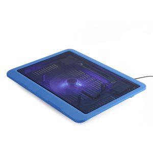 Evrensel 14 inç Altında Laptop Soğutucu Soğutma Pedi Tabanı Büyük Fan USB Tutucu ile Ücretsiz Nakliye Standı