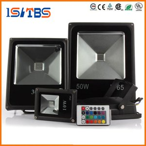 LED Floodlight AC85V-265V LED Flood Light 10W 20W 30W 50W RGB Impermeabile IP65 Riflettore Led Floodlight Faretto da giardino Spot esterno Lampada