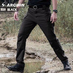 Фитнес-принадлежности Спорт на открытом воздухе кемпинг верховая езда пешие прогулки тактические брюки Мужские брюки для мужчин Four Seasons Multi-pocket Shorts Outdoor Pants