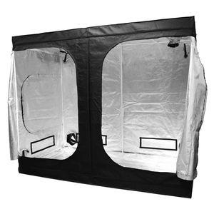 Reflektierendes Mylar Waterproof Grow Tent Grüner Pflanzenraum mit Obeservation-Fenster und Bodenablage für Indoor-Blumen-Obstbau