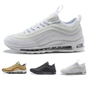 Nike Air Max 97  sneakers  2018 Best Sellers классический 2017 наружной ходьбы обувь Мужчины высокого качества Дешевые моды повседневной обуви новый размер 36-46 бесплатная доставка