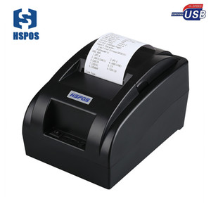 HSPOS لطيفة السعر POS منفذ USB طابعة حرارية 58mm ودعم وESC أو POS القيادة HS-58HU