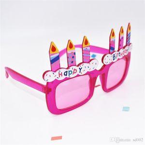 С Днем Рождения очки украшения партии поставки творческий смешные очки фотографии взять фото реквизит практичные украшения горячие продажа 6sf ii
