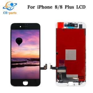 LCD BlackWhite per iPhone 6 6 più 6s 6s più 7 7 plus 8 8+ Display LCD di ricambio Assemblea digitale di tocco dello schermo