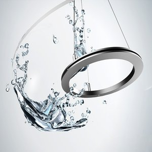 Yakeli anneau circulaire conduit lustres style lustre luminaires chambre atmosphère salon salle à manger salle étude lampes lustre