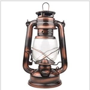 Lampada a cherosene bronzo retro cavallo da campeggio tenda da esterno lampada da campeggio portatile lampada a sospensione