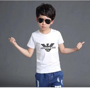 New Fashion Children Short sleeves T-shirt Boys Tops Clothing Tees Kids t Shirt Girls Classic T shirts Clothing