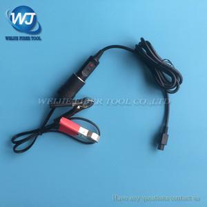 Fujikura FSM-60S FSM-62S FSM-80S fsm-50s fsm-62s fsm-70s Оптоволоконный сварочный аппарат 12 В постоянного тока Автомобильный зарядный кабель dcc-12 DCC-13