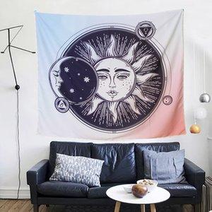 tapicería dossal decrative paño sofá cubierta de tabla 150 * 130 cm tejido de poliéster transferencia de calor impresión de dígitos cielo estrellado dibujos animados diseños